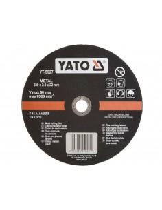 YATO TARCZA DO CIĘCIA METALU 230X22 MM
