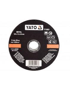 YATO TARCZA DO CIĘCIA METALU 125X22 MM