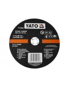 YATO TARCZA DO CIĘCIA KAMIENIA 230X22MM