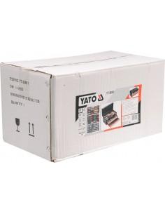 """YATO Nasadka 1/4"""" 10mm 6-kąt CRV krótka"""