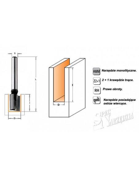 Milwaukee brzeszczot Bim-Co 200/3,2/2,1 mm