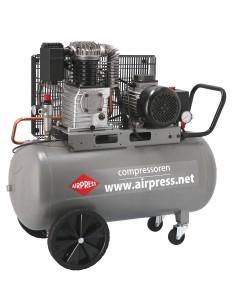 AIRPRESS PROFESJONALNA SPRĘŻARKA TŁOKOWA HK425-100 425L/MIN 100L 10 BAR