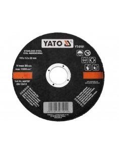 YATO TARCZA DO CIĘCIA METALU 115X22X1,2 MM