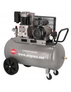 AIRPRESS PROFESJONALNA SPRĘŻARKA TŁOKOWA HL425-100 400L/MIN 100L 10 BAR