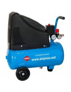 AIRPRESS SPRĘŻARKA TŁOKOWA BEZOLEJOWA HLO 215-25 215L/MIN 24L 230V