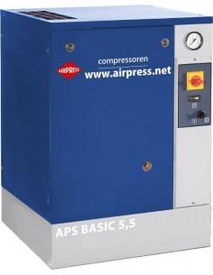 AIRPRESS KOMPRESOR ŚRUBOWY APS 5.5 BASIC 10 Bar 470L/MIN