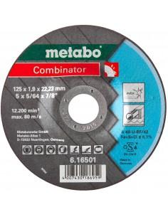 METABO TARCZA ŚCIERNO TNĄCA INOX DO METALU I STALI NIERDZEWNEJ 125X1.9X22.23MM