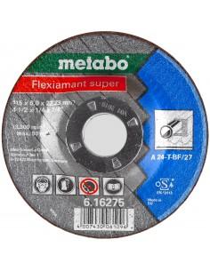 METABO TARCZA DO SZLIFOWANIA METALU FLEXIAMANT SUPER GRATOWANIA I SZLIFOWANIA KRAWĘDZI 115X6X22,23MM