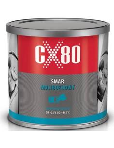 CX80 SMAR MOLIBDENOWY DO ŁOŻYSK WAŁÓW PRZEGUBÓW DŹWIGÓW SUWNIC ŻURAWI PUSZKA 500G