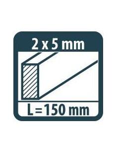 MILWAUKEE BIT UDAROWY PH2 50MM SHOCKWAVE II 10PC