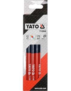 YATO Ołówki techniczne zestaw 12 szt