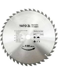 Yato Tarcza Tnąca Do Drewna Piła 350x30 40z