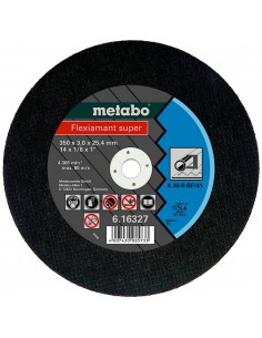 METABO FLEXIAMANT SUPER TARCZA DO CIĘCIA METALU 300X2,5X25,4