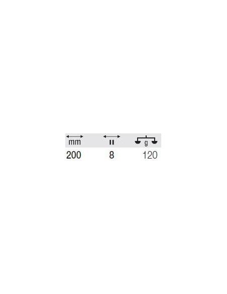 MILWAUKEE WIERTŁO WIDIOWE CZTEROOSTRZOWE SDS-PLUS X4 DO BETONU 6,5X150/210 MM