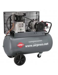 AIRPRESS PROFESJONALNA SPRĘŻARKA TŁOKOWA HK600-90 480L/MIN 90L 400V
