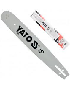 """YATO PROWADNICA ŁAŃCUCHA DO PILARKI 38CM 15"""" O.56 3/8"""" 1,5MM 0.058"""