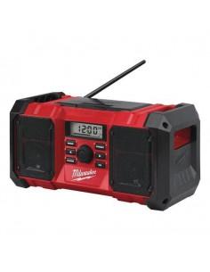 MILWAUKEE RADIO M18 JSR-0 AKUMULATOROWE BUDOWLANE ŁADOWARKA USB 18V