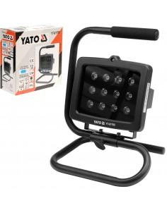 YATO REFLEKTOR LED PRZENOŚNY ALUMINIOWY IP54 12W 1020LM
