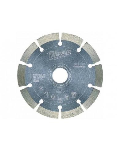 MILWAUKEE TARCZA DIAMENTOWA DU 125 DO CIĘCIA BETONU NA SUCHO 125X22,23 MM