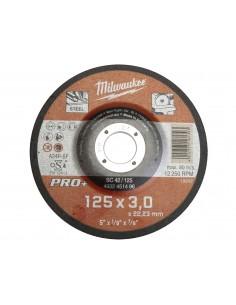 MILWAUKEE TARCZA TNĄCA WKLĘSŁA DO METALU 125MM X 22,23MM