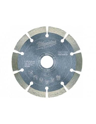 MILWAUKEE TARCZA DIAMENTOWA DUH 115 DO CIĘCIA BETONU NA SUCHO 115X22,23 MM