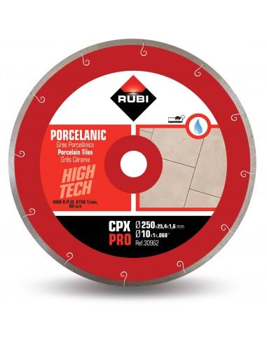 Rubi Tarcza Diamentowa Do Cięcia Gresu Porcelanowego Na Mokro CPX 250 Pro 250x25,4mm